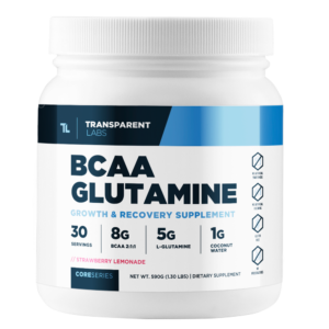 Best BCAAs for Women: Core Series BCAA Glutamine by Transparent Labs