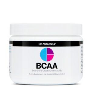Best BCAA supplement: Do Vitamins BCAA Powder.